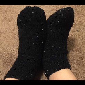 Worn fuzzy Used Socks